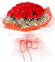 Ağrı hediye sevgilime hediye çiçek  21 adet askin kirmizi gül buketi