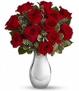 Ağrı çiçek siparişi vermek   vazo içerisinde 11 adet kırmızı gül tanzimi