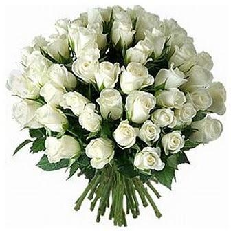 Ağrı çiçek servisi , çiçekçi adresleri  33 adet beyaz gül buketi