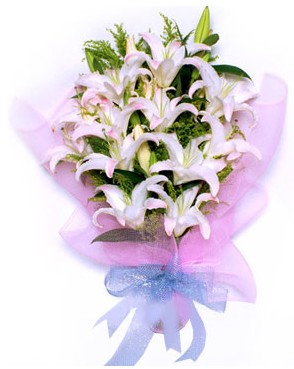 5 dal kazablankadan muhteşem buket  Ağrı hediye çiçek yolla