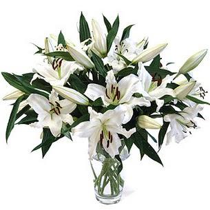 Ağrı çiçekçi telefonları  3 dal görsel casablanca vazo tanzimi