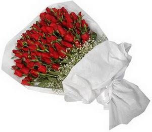 Ağrı İnternetten çiçek siparişi  51 adet kırmızı gül buket çiçeği