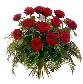 Ağrı internetten çiçek satışı  15 adet kırmızı gülden buket