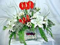 Ağrı çiçek mağazası , çiçekçi adresleri  Anthurim Kazablanka  gül