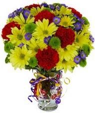 En güzel hediye karışık mevsim çiçeği  Ağrı hediye çiçek yolla