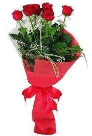 Çiçek yolla sitesinden 7 adet kırmızı gül  Ağrı internetten çiçek satışı