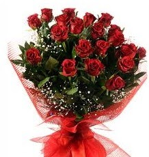 İlginç Hediye 21 Adet kırmızı gül  Ağrı internetten çiçek siparişi