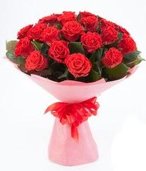 15 adet kırmızı gülden buket tanzimi  Ağrı çiçek siparişi sitesi