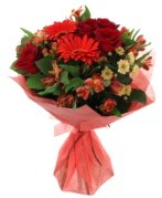 karışık mevsim buketi  Ağrı internetten çiçek siparişi