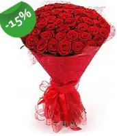 51 adet kırmızı gül buketi özel hissedenlere  Ağrı çiçek siparişi sitesi