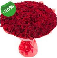 Özel mi Özel buket 101 adet kırmızı gül  Ağrı anneler günü çiçek yolla