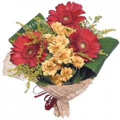 karışık mevsim buketi  Ağrı çiçekçi mağazası