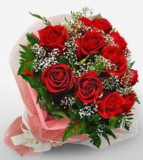 12 adet kırmızı güllerden kaliteli gül  Ağrı çiçek siparişi vermek