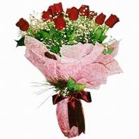 Ağrı çiçek siparişi sitesi  12 adet kirmizi kalite gül