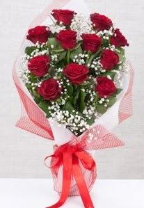 11 kırmızı gülden buket çiçeği  Ağrı 14 şubat sevgililer günü çiçek