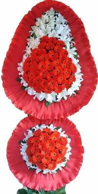 Ağrı online çiçek gönderme sipariş  Çift katlı kaliteli düğün açılış sepeti
