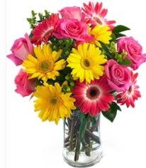 Vazoda Karışık mevsim çiçeği  Ağrı çiçekçi mağazası