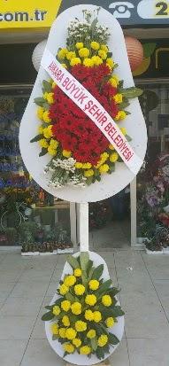 Çift katlı düğün nikah açılış çiçek modeli  Ağrı çiçekçi mağazası