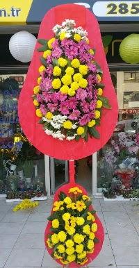 Çift katlı düğün nikah açılış çiçek modeli  Ağrı online çiçek gönderme sipariş