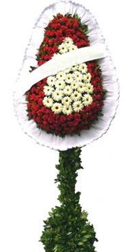 Çift katlı düğün nikah açılış çiçek modeli  Ağrı İnternetten çiçek siparişi