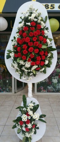 2 katlı nikah çiçeği düğün çiçeği  Ağrı çiçek gönderme