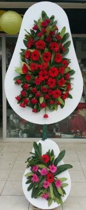 Çift katlı düğün nikah açılış çiçek modeli  Ağrı internetten çiçek siparişi