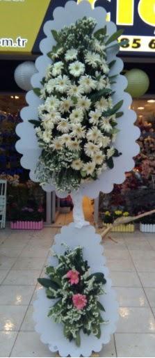 Çift katlı düğün nikah açılış çiçeği  Ağrı çiçekçi telefonları