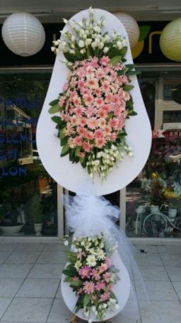 Çift katlı özel şahane sepet çiçeği  Ağrı çiçekçi telefonları