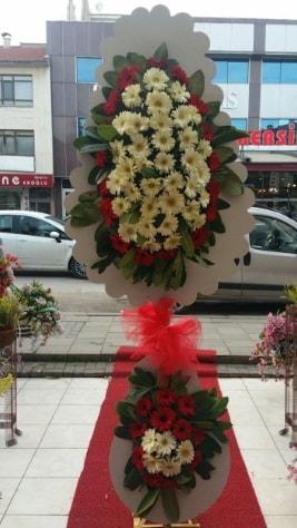 Çift katlı düğün açılış çiçeği  Ağrı çiçek satışı