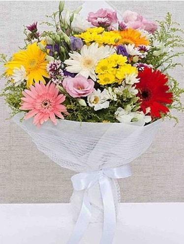 Karışık Mevsim Buketleri  Ağrı ucuz çiçek gönder
