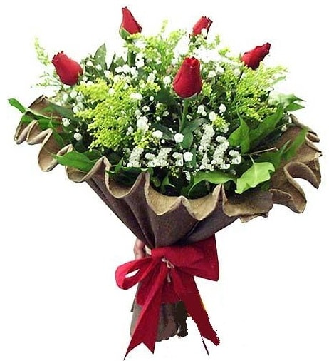 5 adet gülden buket  Ağrı çiçek gönderme sitemiz güvenlidir
