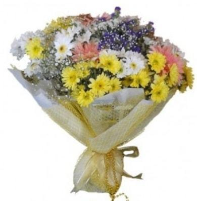 Karışık mevsim çiçeği  Ağrı çiçek satışı