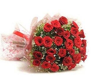 27 Adet kırmızı gül buketi  Ağrı ucuz çiçek gönder