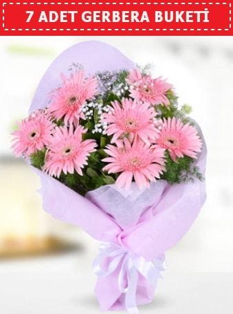 Pembe Gerbera Buketi  Ağrı çiçek , çiçekçi , çiçekçilik