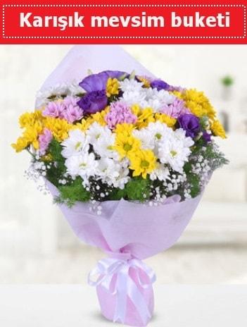 Karışık Kır Çiçeği Buketi  Ağrı güvenli kaliteli hızlı çiçek